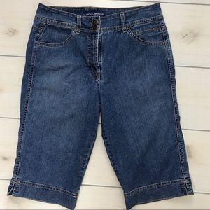 Bandolino Bandolinoblu Bermuda Jean Denim Shorts